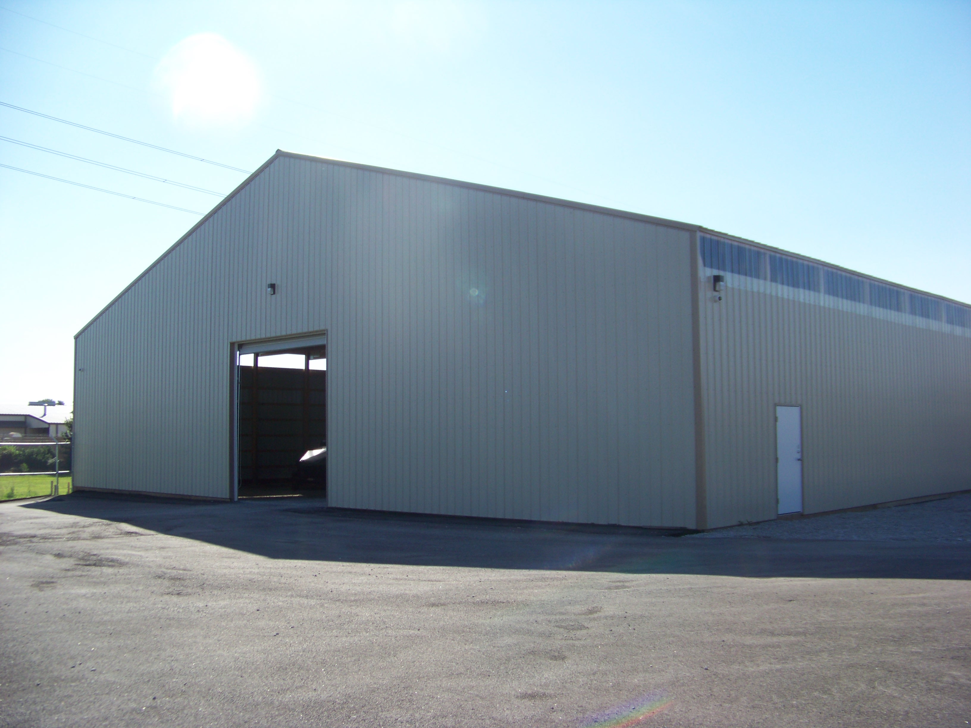 New Boat Storage Building